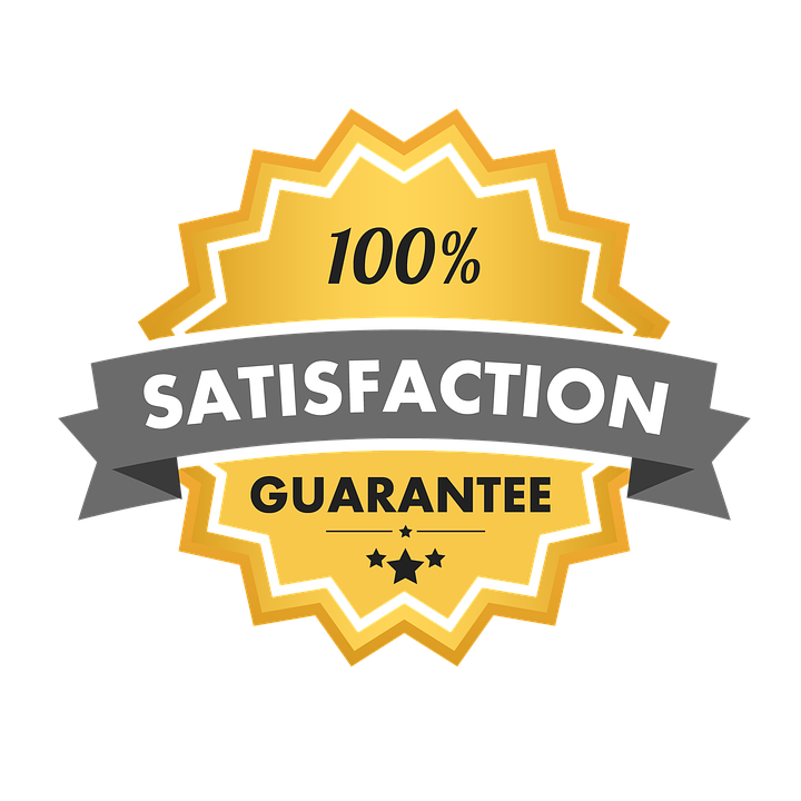100% Satisfaction seal for a fence company in El Paso Texas